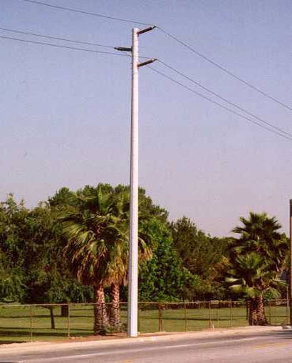 Fiberglass Electrical Poles : Allied bolt inc